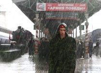 """Акция """"Агитпоезд - Армия Победы"""" стартовала в Москве"""
