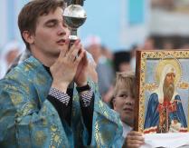 Продолжается рабочая поездка патриарха Московского и всея Руси Кирилла в Татарстан