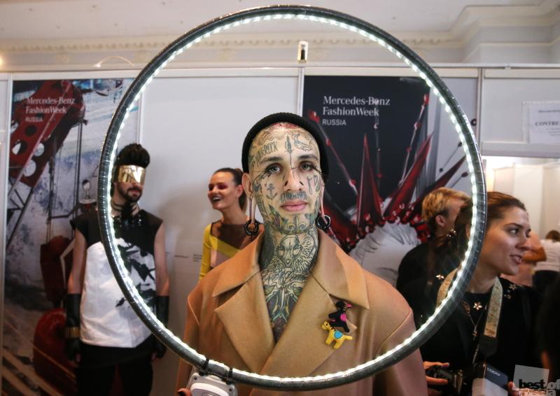 Показ коллекций на Mercedes-Benz Fashion Week Russia в Москве