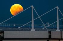 Луна в стадионе