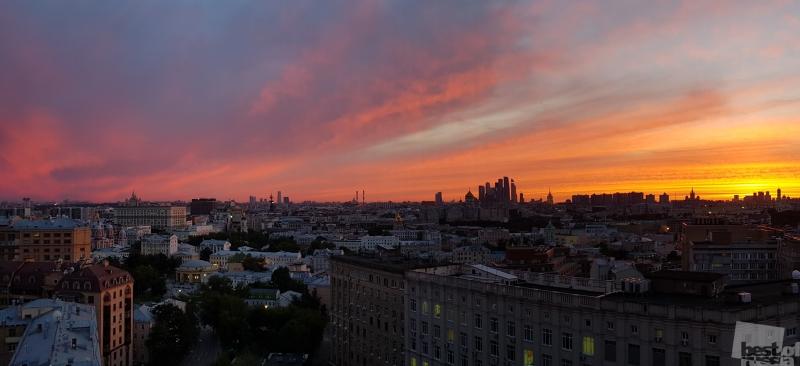 Закаты большого города