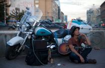 Приключение японского байкера-музыканта в Сибири
