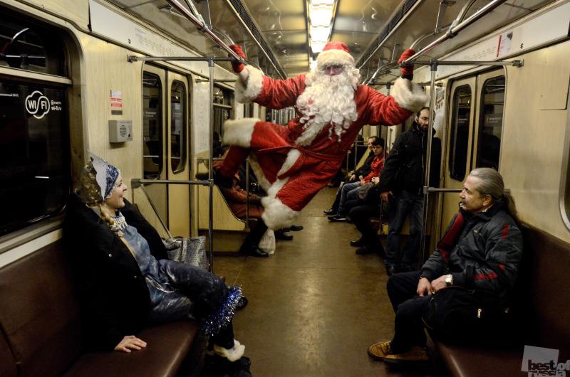 Сумасшедший Дед Мороз