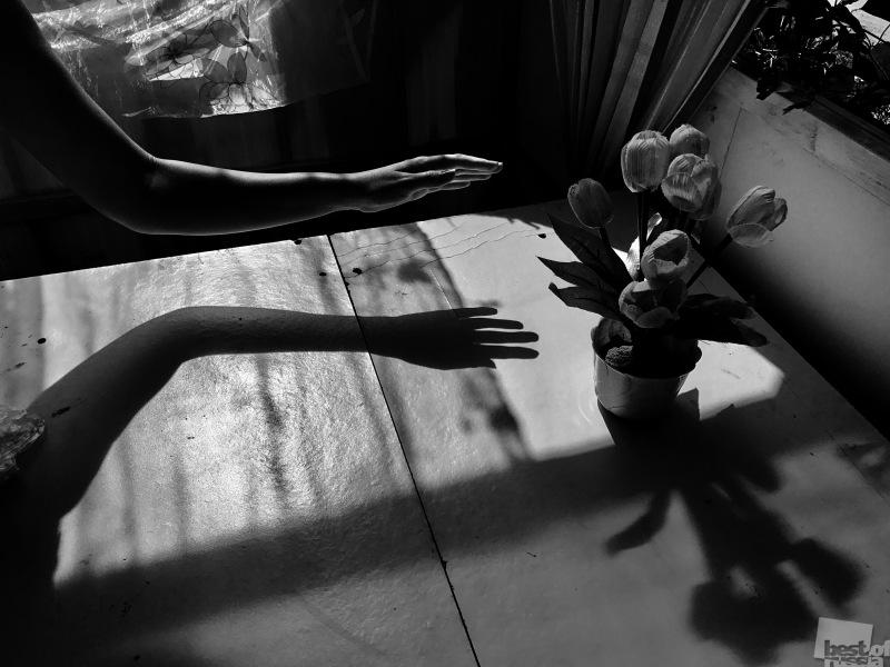 Цветы и руки