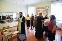 Крещение в Доме культуры