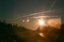 Дорога от Питера до Москвы