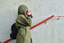 Уличный фотограф.