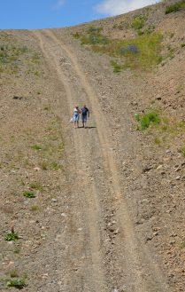 пешие прогулки у вершины Домбая
