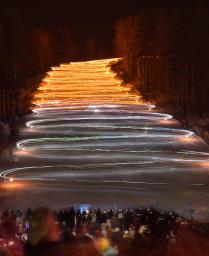 Железногорское факельное шествие