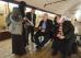 Американский посол Джон Теффт в гостях у соловецких монахов