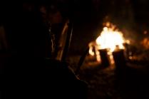 Шаманский обряд во время празднования Вакчай Ни