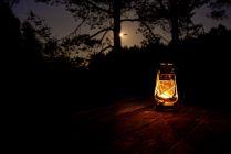 Лампа в лунном свете
