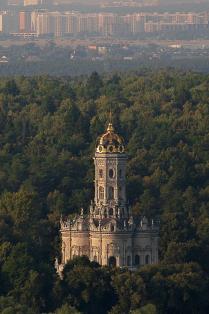 Церковь Иконы Божией Матери Знамение в Дубровицах