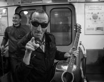 Музыкант петербургского метро