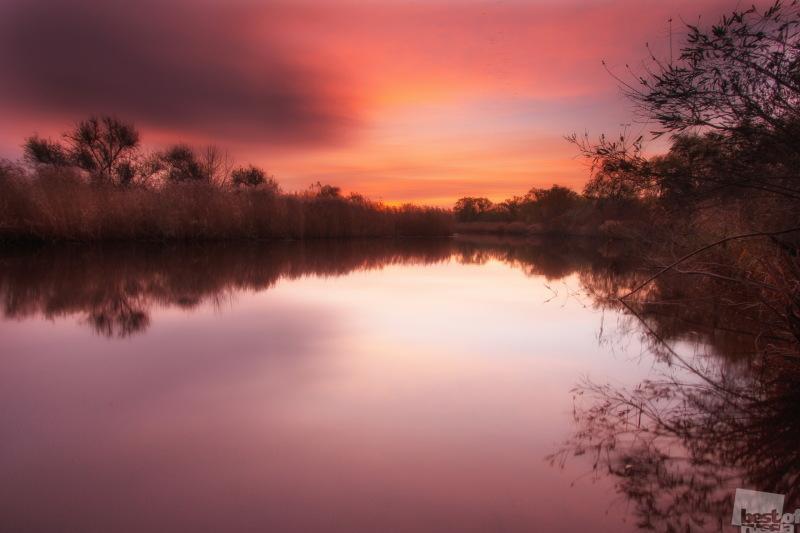 Яркие краски осеннего утра