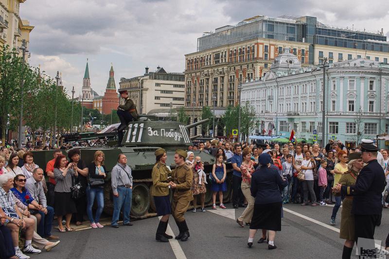 Москва. День независимости России.