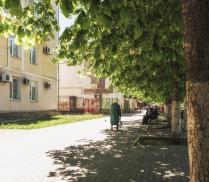 Теплая весна города детства