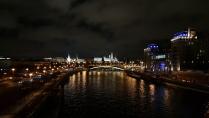 Москва. Ночной Кремль