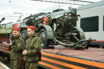 Русские воины - настоящие зоркие орлы.