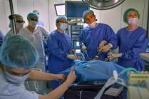 Операция на отделении бариатрической хирургии