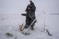 Рыбалка на Байкале.