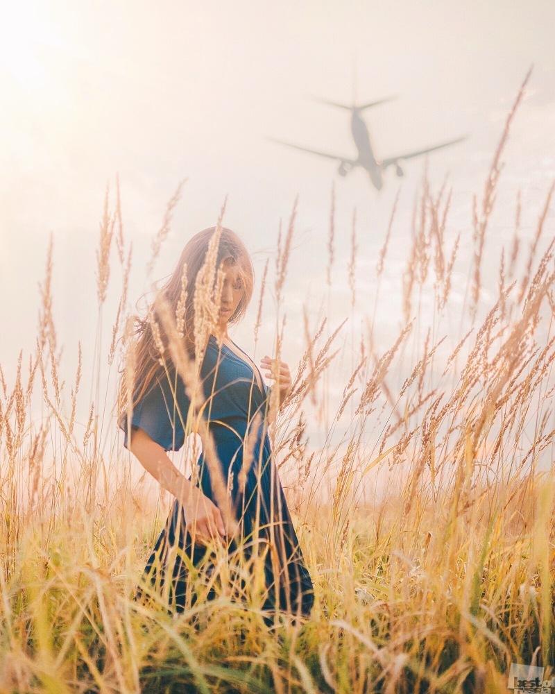 Провожая самолеты