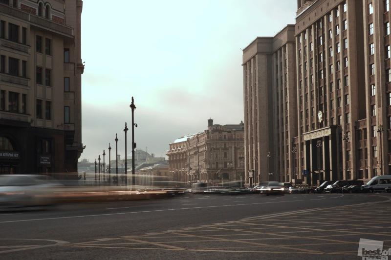 Москва в движении