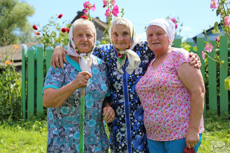 Чернодьевские бабушки