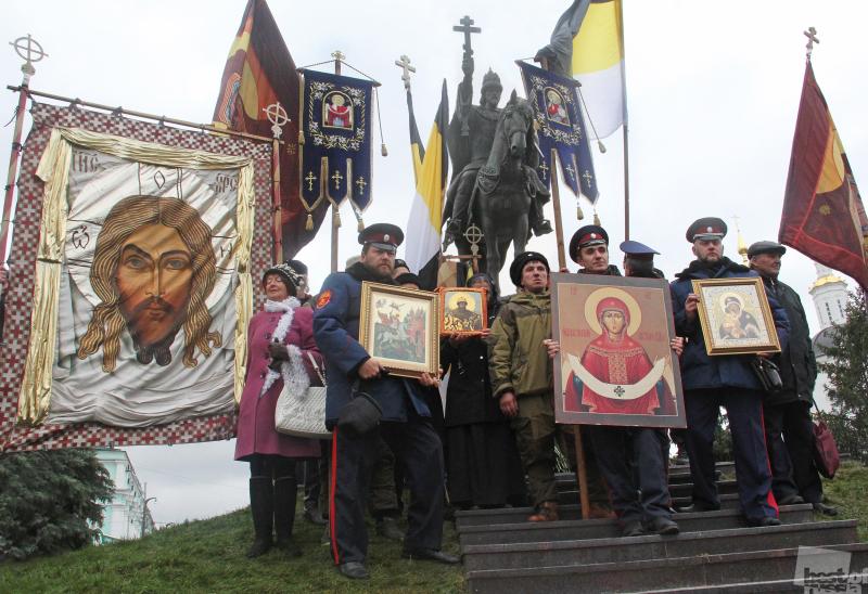 Открытие памятника царю Ивану Грозному в городе Орле
