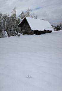Снег на 9 мая.