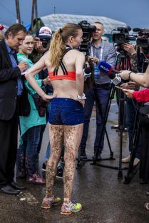 Интервью. Парижский полумарафон 2017, Россия, село Париж