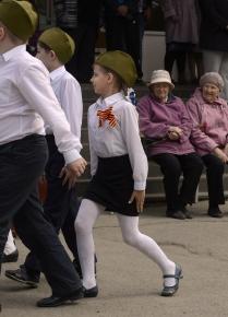 Школьный парад