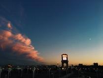 Закат над МКАД