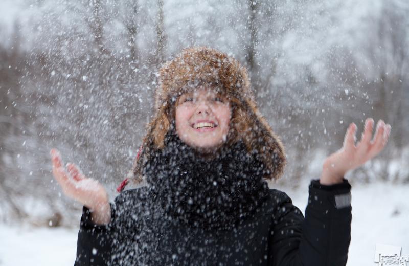 Наконец-то, снег!