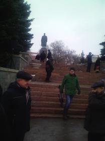 КПРФ Омск памятник Ленину