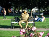 Скульптура или человек