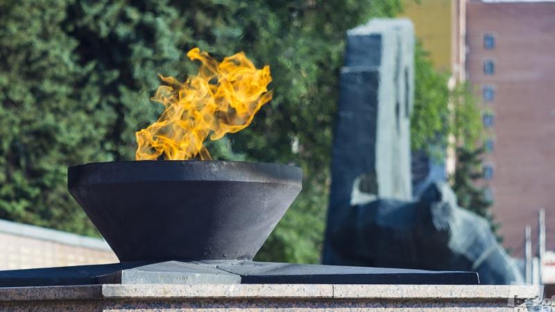Памятник Славы и годовщина Победы