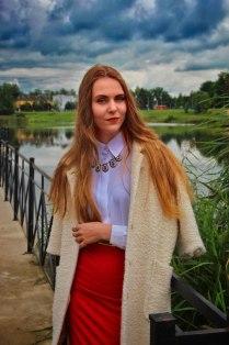 Портретная съемка, модель Татьяна.