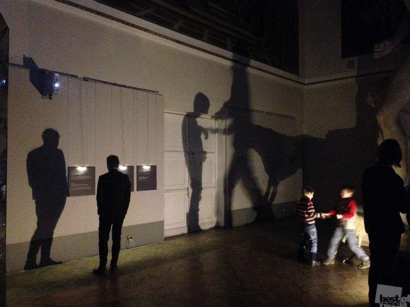 На выставке в Российской академии художеств