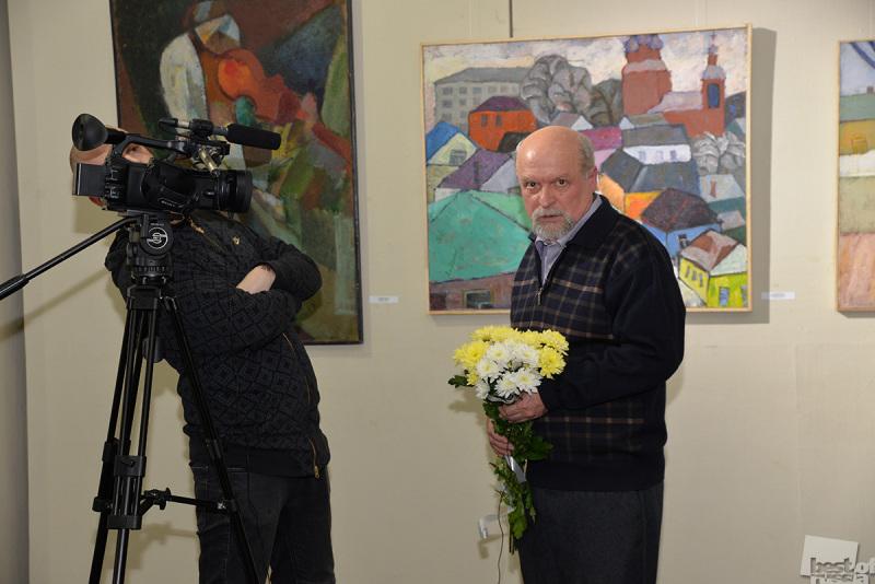Портрет  художника Алдошина В.