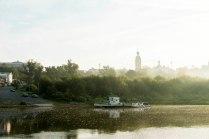 Утром на реке