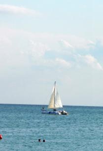 О море...море....