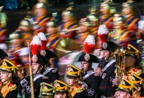 """Закрытие военно-музыкального фестиваля """"Спасская башня"""" на Красной площади"""