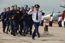 Праздник Военно-космических сил в военском гарнизоне 2