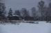 Снежная осень