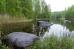 The silence of the Karelian river
