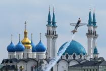 Тестовые полеты на чемпионате мира по авиагонкам  в Казани