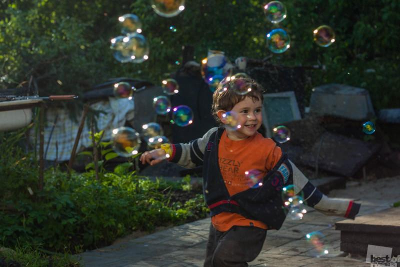 Чудо в пузырях