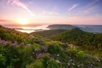Рассвет в Жигулёвских горах