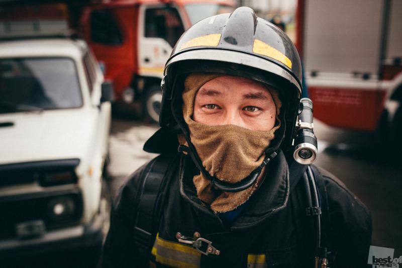 Портрет пожарного